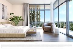 Arbor- Master Bedroom Rendering